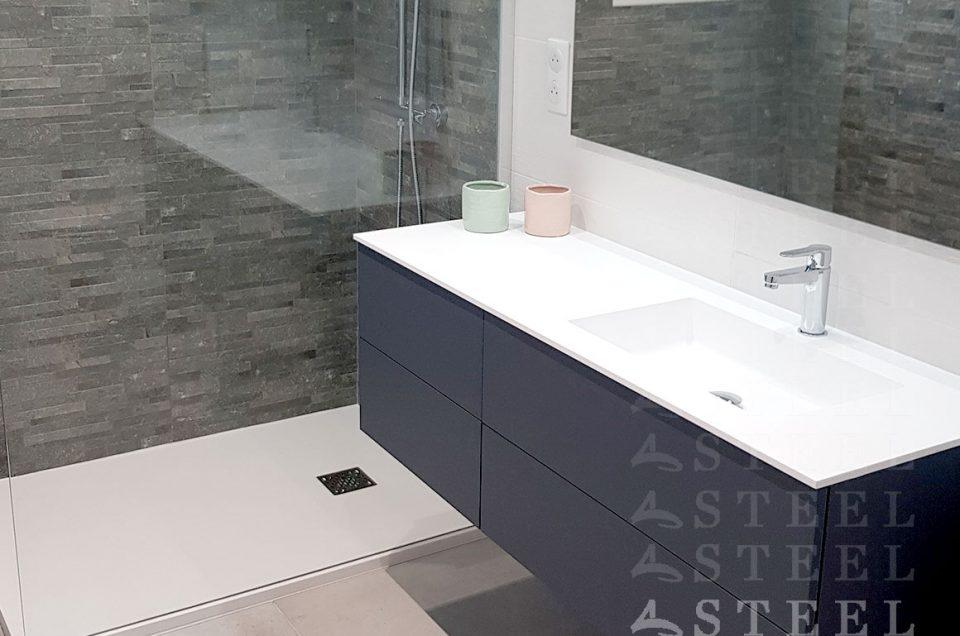 Rénovation d'une salle de bain sur Draguignan.