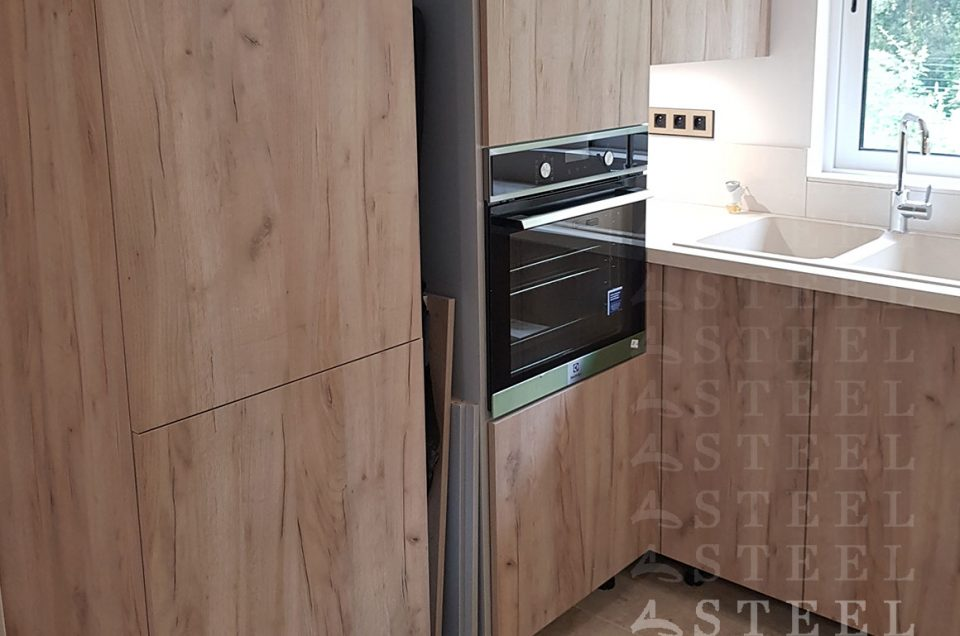 Une cuisine qui s'adapte aux volumes de votre pièce