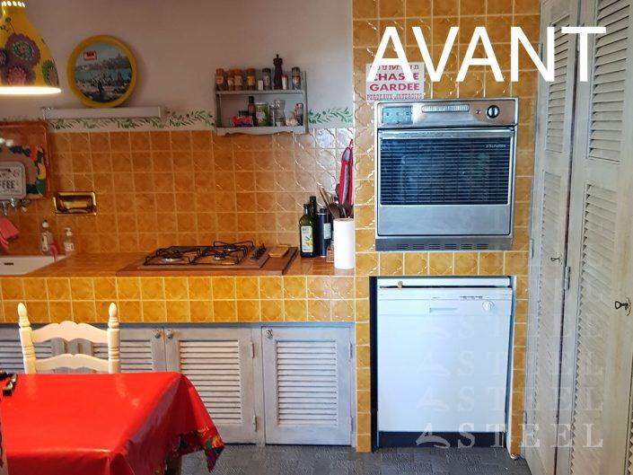 agrandissement renovation cuisine Vidauban cogolin