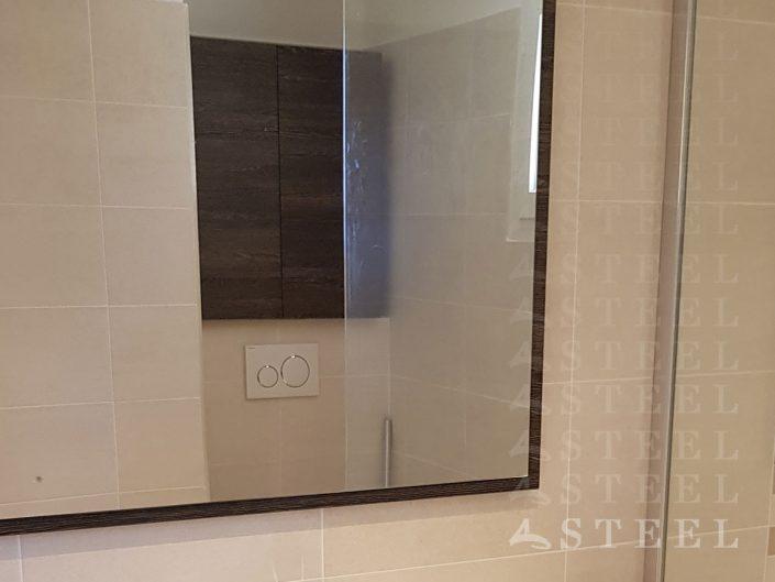 Kit.salle.de BAIN.miroire.Meuble.vasque.petite.salle.de.bains.moderne.sous.toit.renovation.draguignan.var.provence