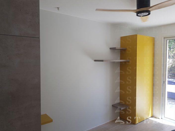 Renovation.installation.ventillateur.plafond.dressing.sur-mesure.chambre.d.enfant.amis.rangements.Draguignan.83