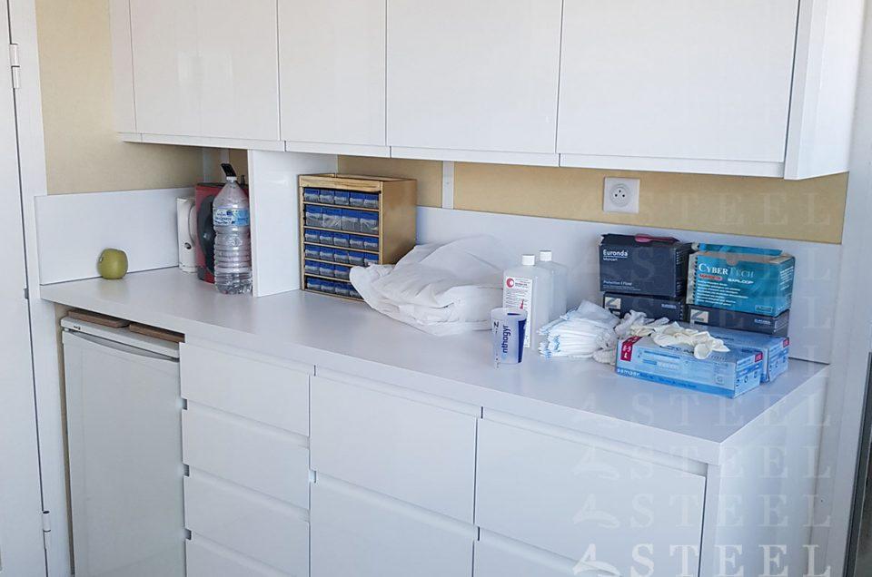 Meuble sur-mesure / Cabinet médical  & local professionnel